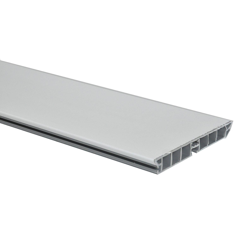 zoccolino cucina in pvc rivestito bianco 300 cm x 10 cm