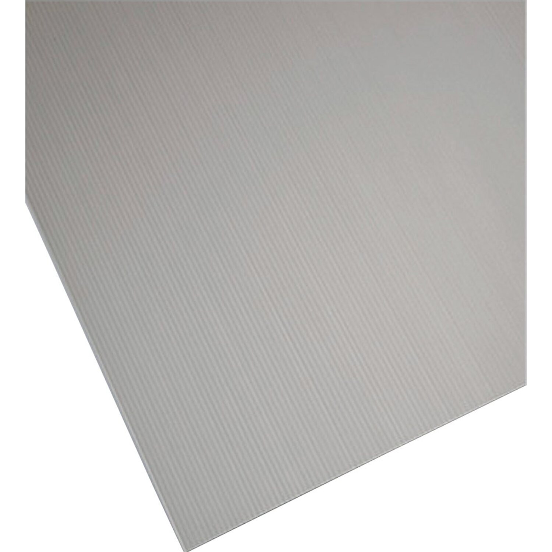 Lastra alveolare plastonda grigio 500 mm x 500 mm x 2 5 mm for Lastre bituminose obi