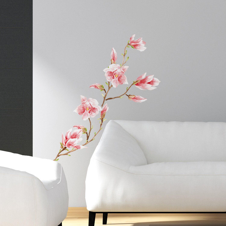 Decorazioni adesive per parete magnolia acquista da obi - Adesivi da muro ikea ...