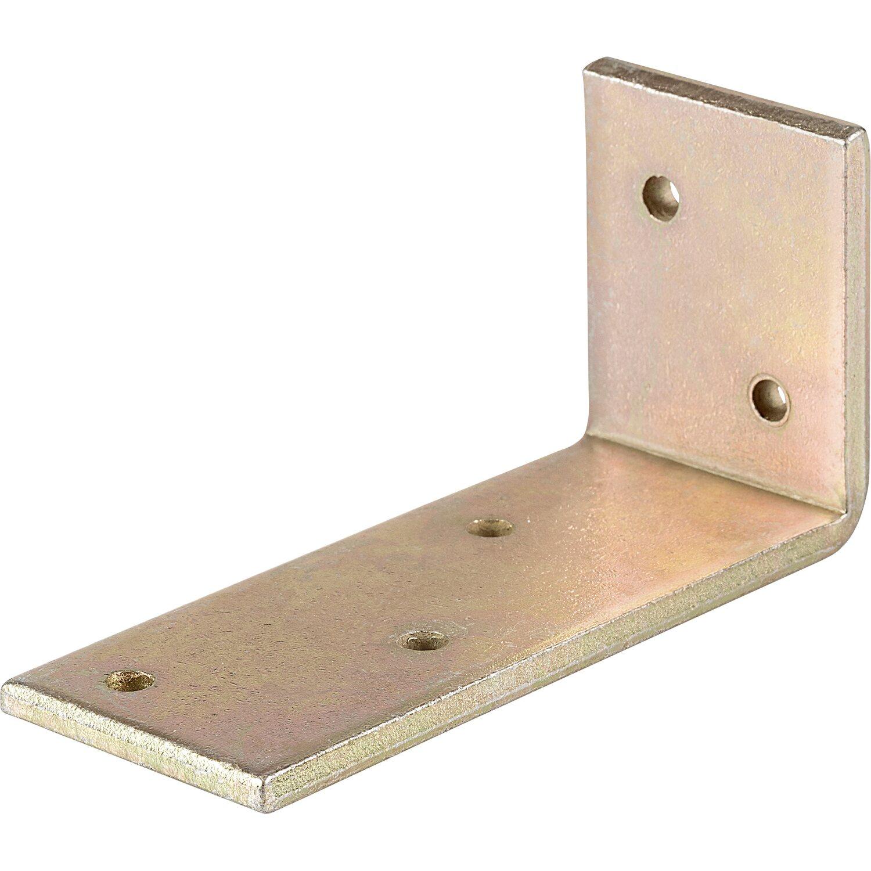 modelli di grande varietà Vendita di liquidazione nuova collezione Angolare per travi acciaio zincato 100 mm x 50 mm x 40 mm
