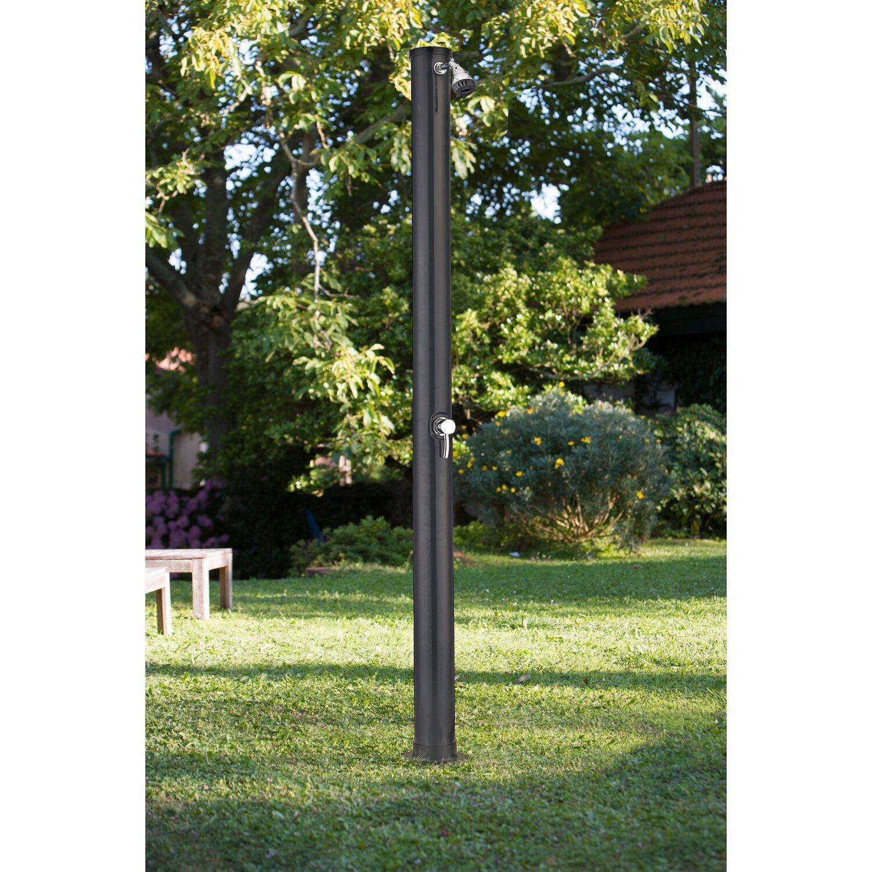 scaffali da esterno obi: kis scaffale plus 120 5 in plastica nero ... - Salotto Da Giardino Obi