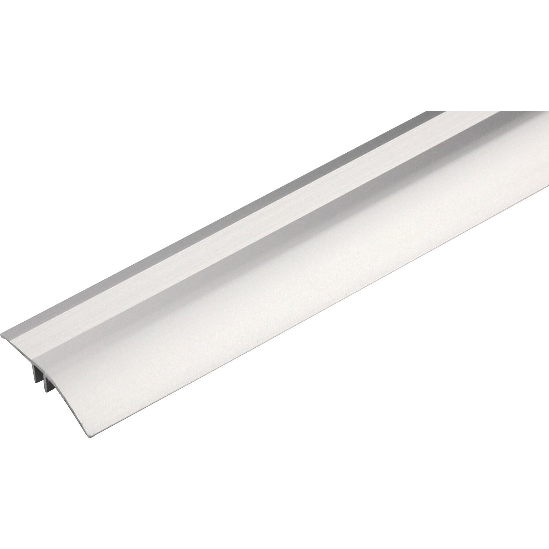 Profilo Per Parquet Scivoparc In Alluminio Zigrinato 6 Mm X 40 Mm X 2700 Mm