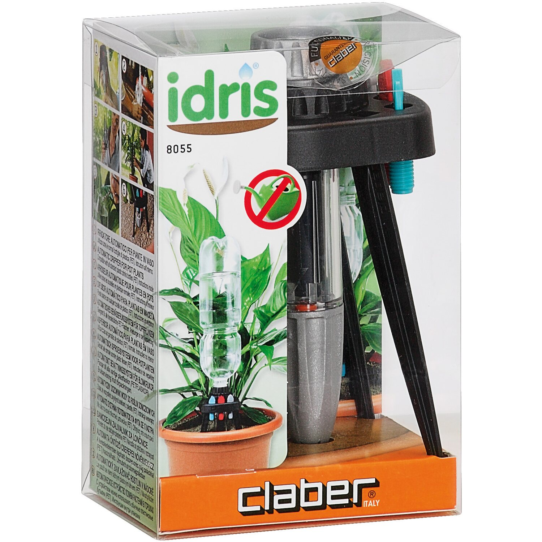 Claber irrigatore automatico idris per piante in vaso for Irrigatore automatico