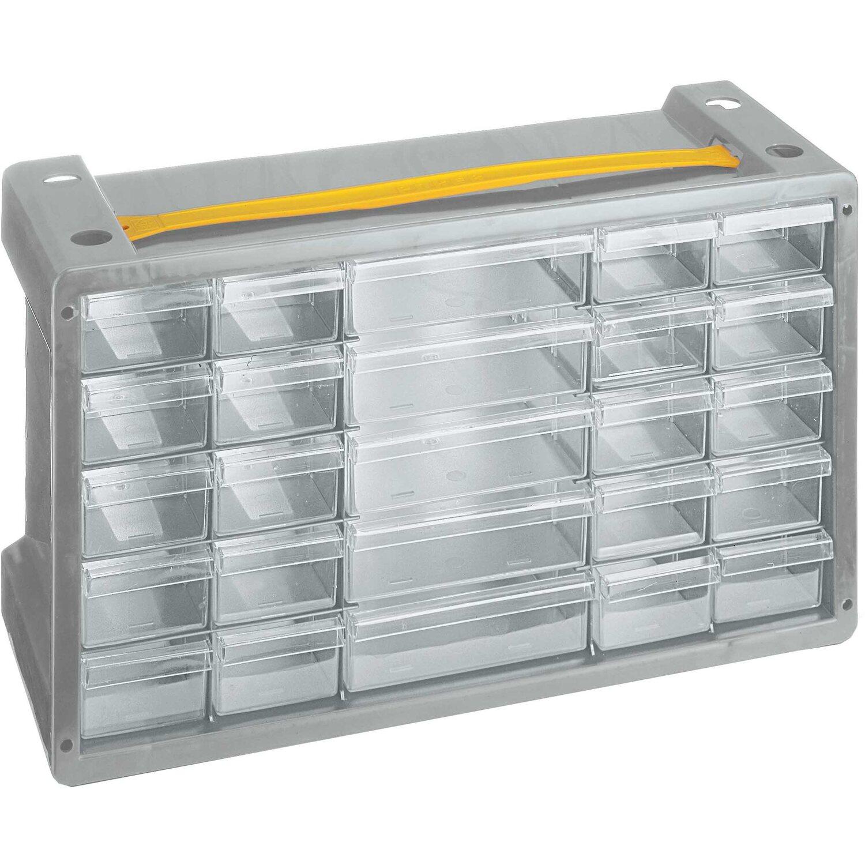 Mini Cassettiera Fai Da Te cassettiera portaminuteria poker 25 grigio
