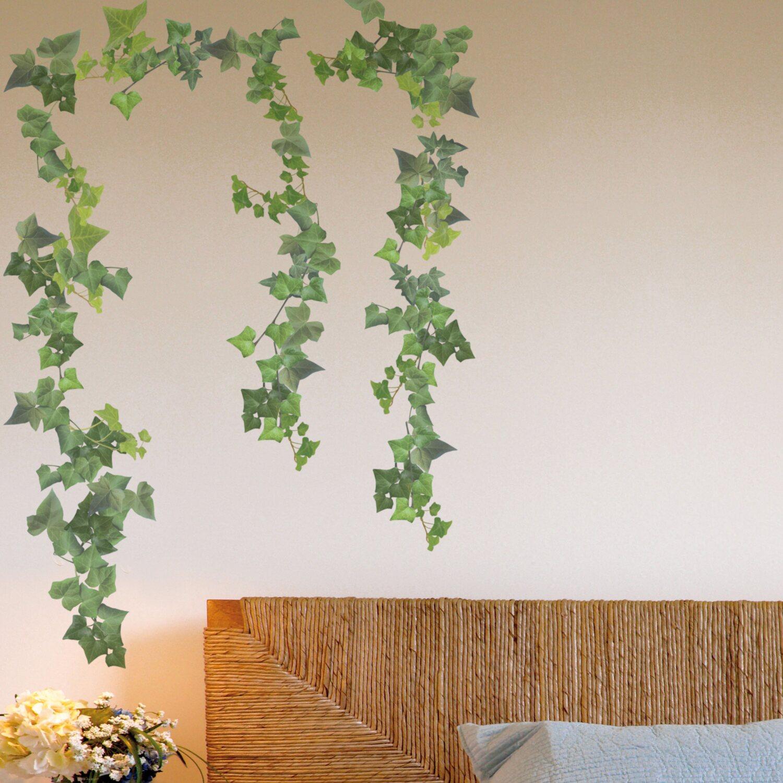 Decorazioni adesive per parete edera acquista da obi for Decorazioni adesive per pareti