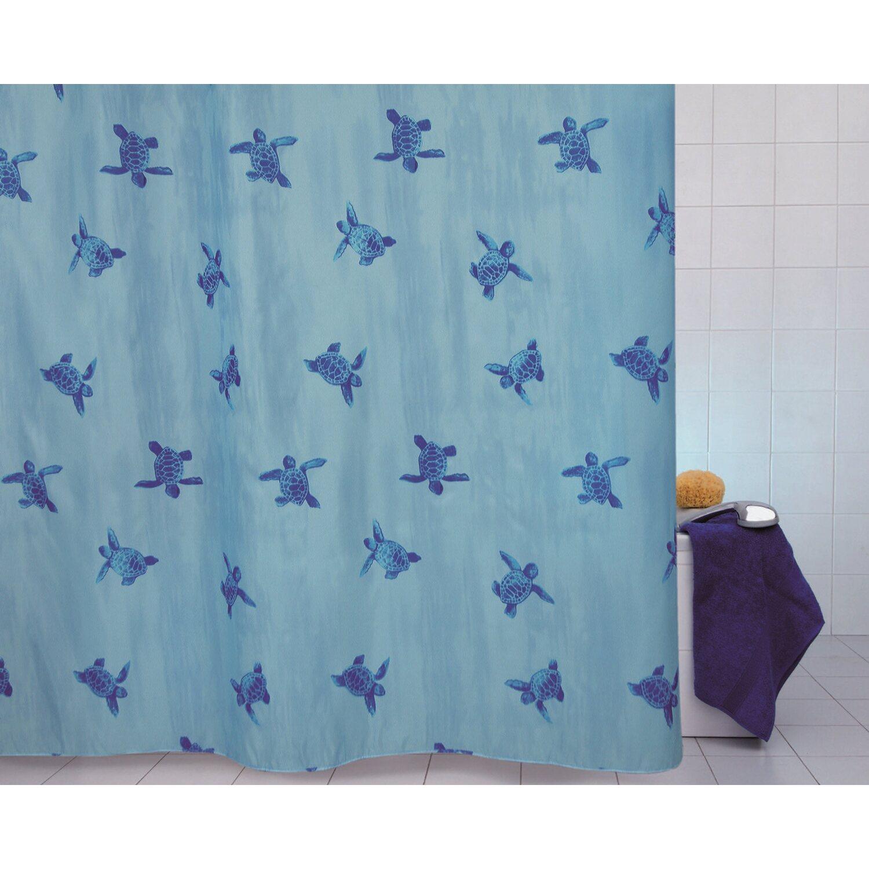 Tenda doccia in tessuto azzurro 120 cm x 200 cm acquista - Tende per doccia in tessuto ...