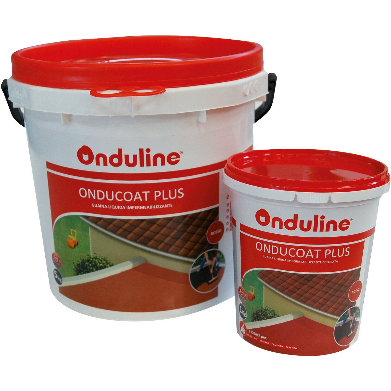 Vernice liquida impermeabilizzante Onducoat plus rossa 1 k acquista ...