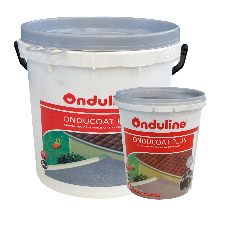 Vernice liquida impermeabilizzante Onducoat plus grigia 1 k acquista ...
