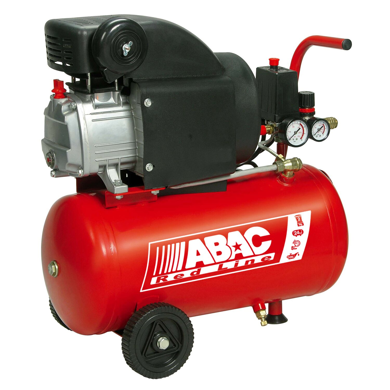 abac red line compressore d aria 24 l 2 hp lubrificato acquista da obi. Black Bedroom Furniture Sets. Home Design Ideas
