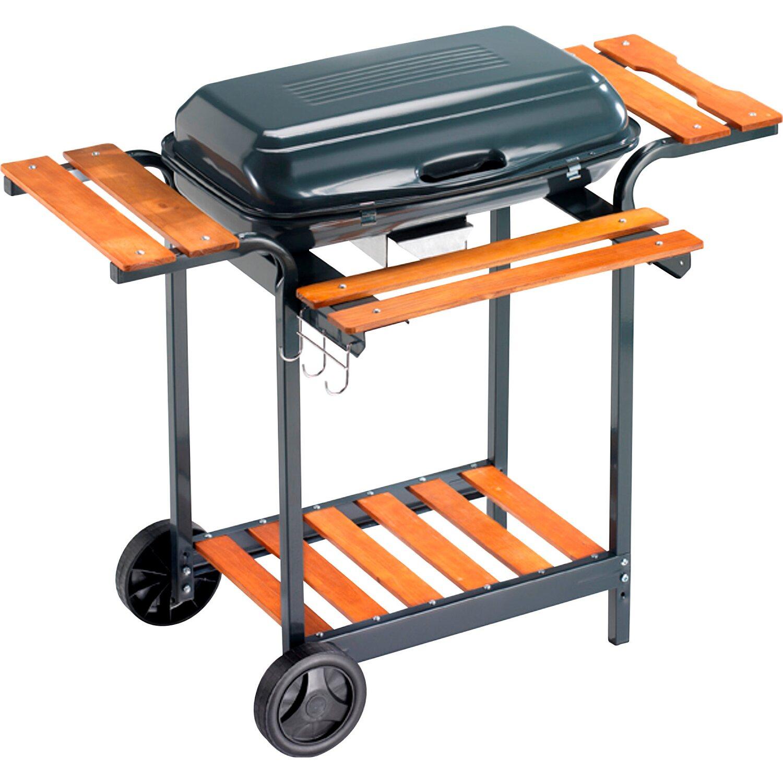 Barbecue saturno a carbonella 60 cm x 40 cm acquista da obi for Barbecue in muratura obi
