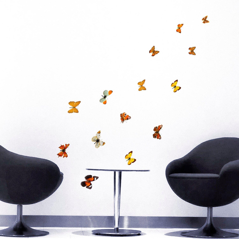 Decorazioni adesive per parete farfalle d autunno acquista for Decorazioni da parete adesive