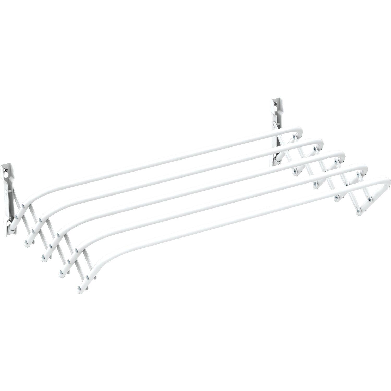 Gimi stendibiancheria brio super 120 da parete in acciaio acquista da obi - Stendibiancheria da finestra ...
