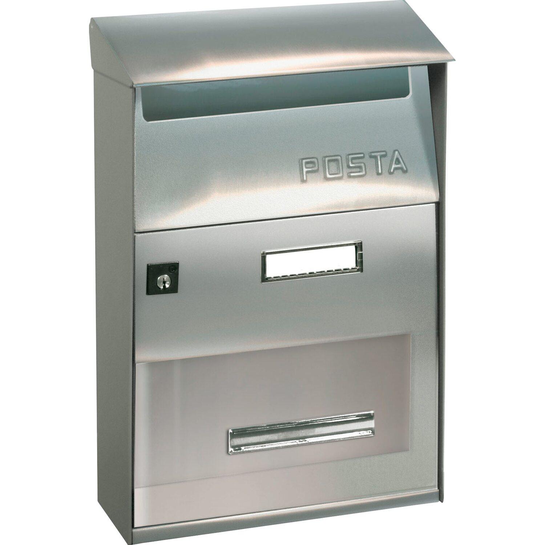 Alubox cassetta postale ft evo inox acquista da obi - Cassetta postale design ...