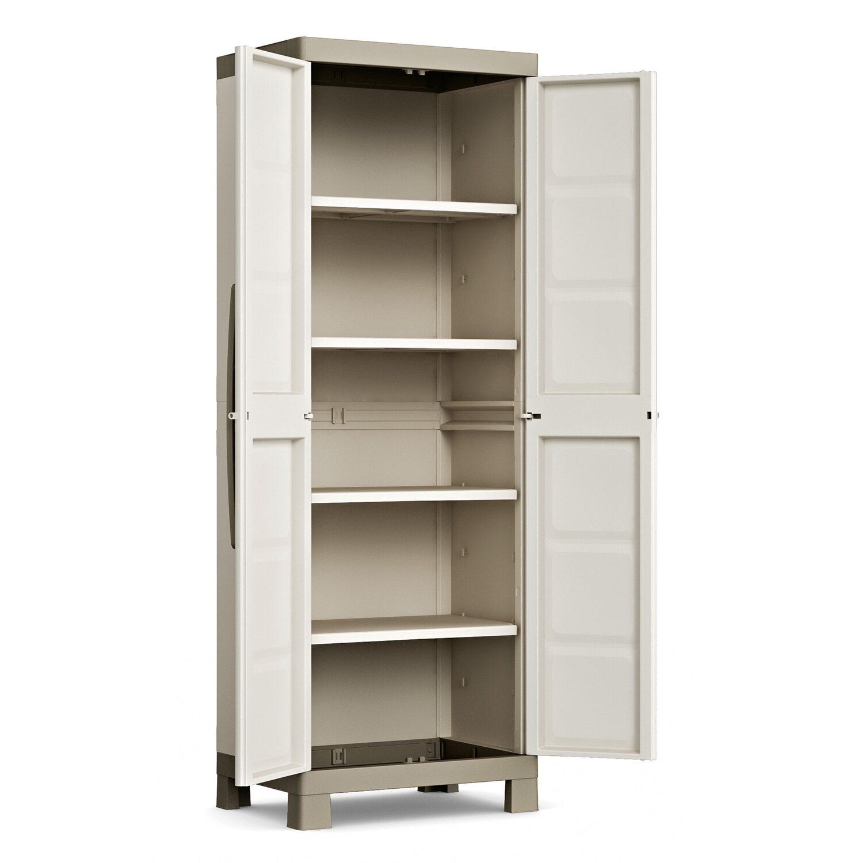Kis armadio alto in resina excellence 45 cm x 65 cm x 182 - Armadi da esterno obi ...