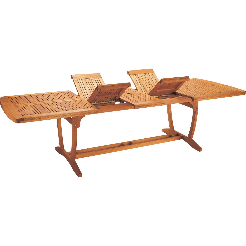 Obi tavolo estraibile chelsea 220 300 x 110 cm acquista for Obi tavoli giardino