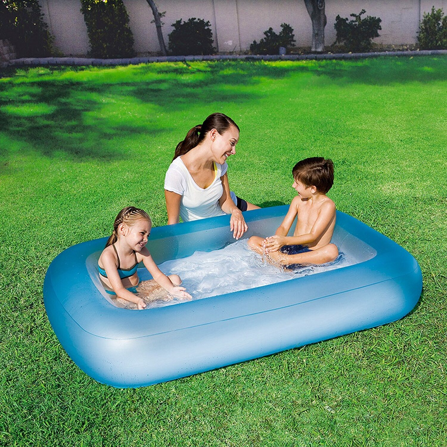 Bestway piscina aquababe 165 cm x 104 cm x 25 cm colori for Bestway italia piscine