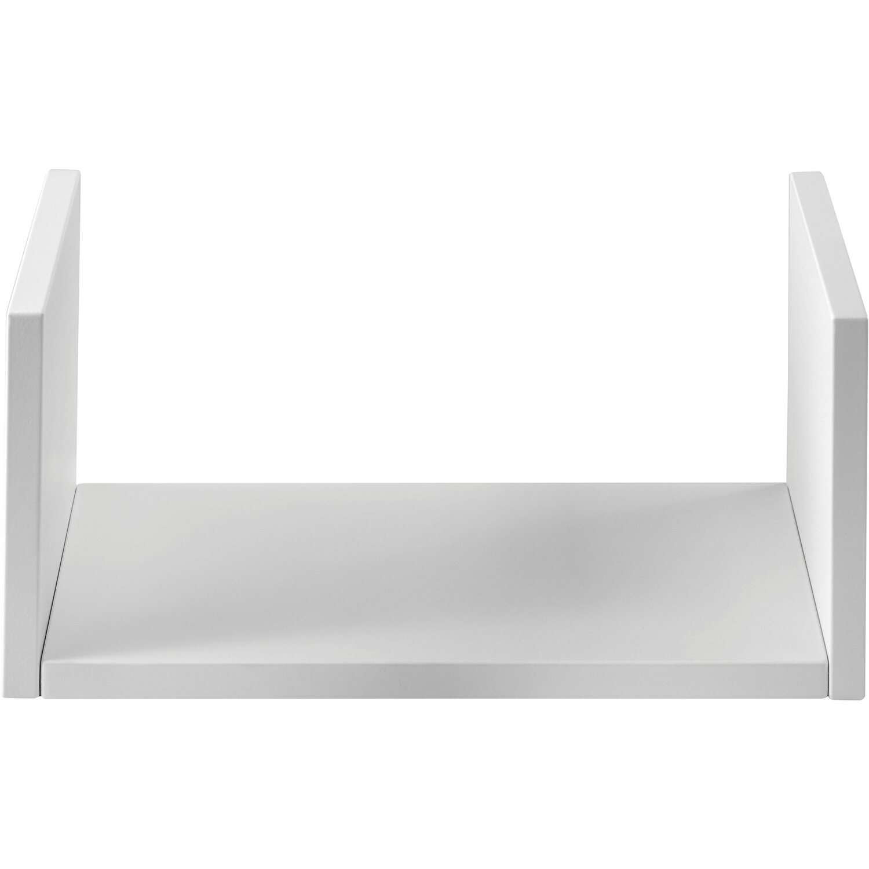 Mensole Laminato Bianco.Kit Mensola Linea Componibile Bianco Laccato Kit 3 Pz