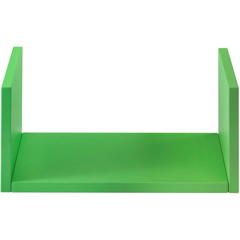 Mensola linea componibile verde laccato acquista da obi for Obi mensole