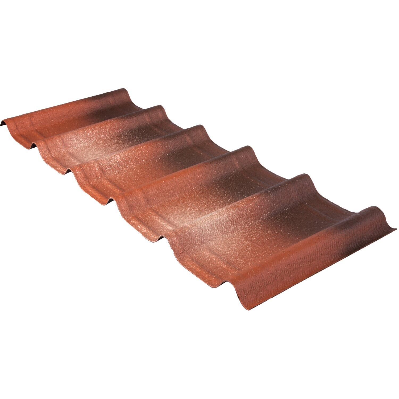 Tegola ondulata bituminosa onduvilla fiorentino sfusa for Onduline plastica