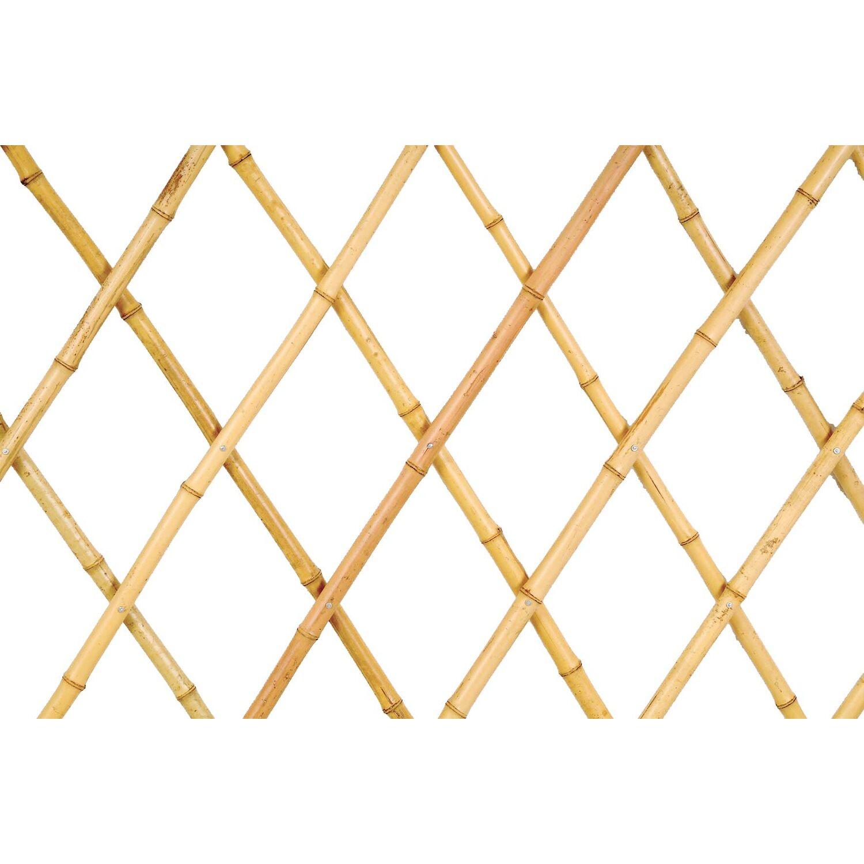 Traliccio Estensibile In Bamboo 1 8 M X 0 6 M Naturale Acquista Da Obi