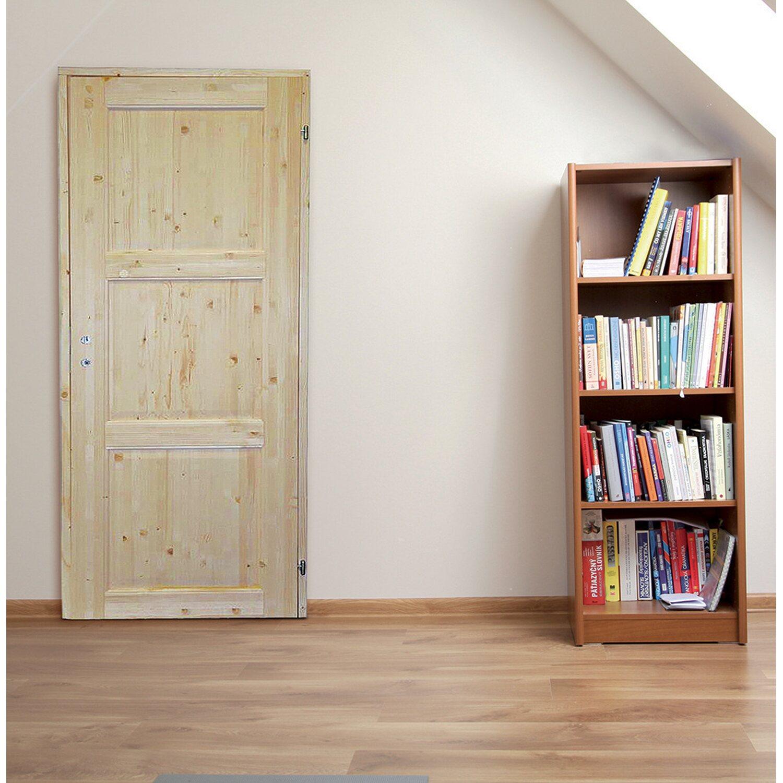 Porta reversibile in abete grezzo 210 cm x 80 cm