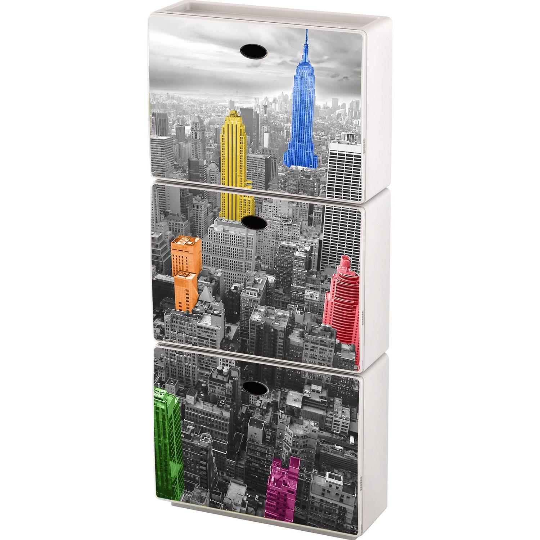 Armadio In Ordine : Scarpiera tris qbox decorativo personalizzabile urban