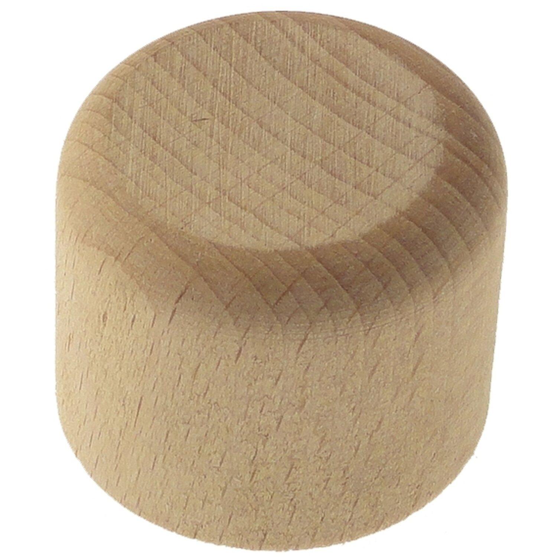 Bastoni Per Tende In Legno Anticato.Terminale Tappo In Legno Per Bastone Tenda Bianco Antico 28 Mm 2 Pz
