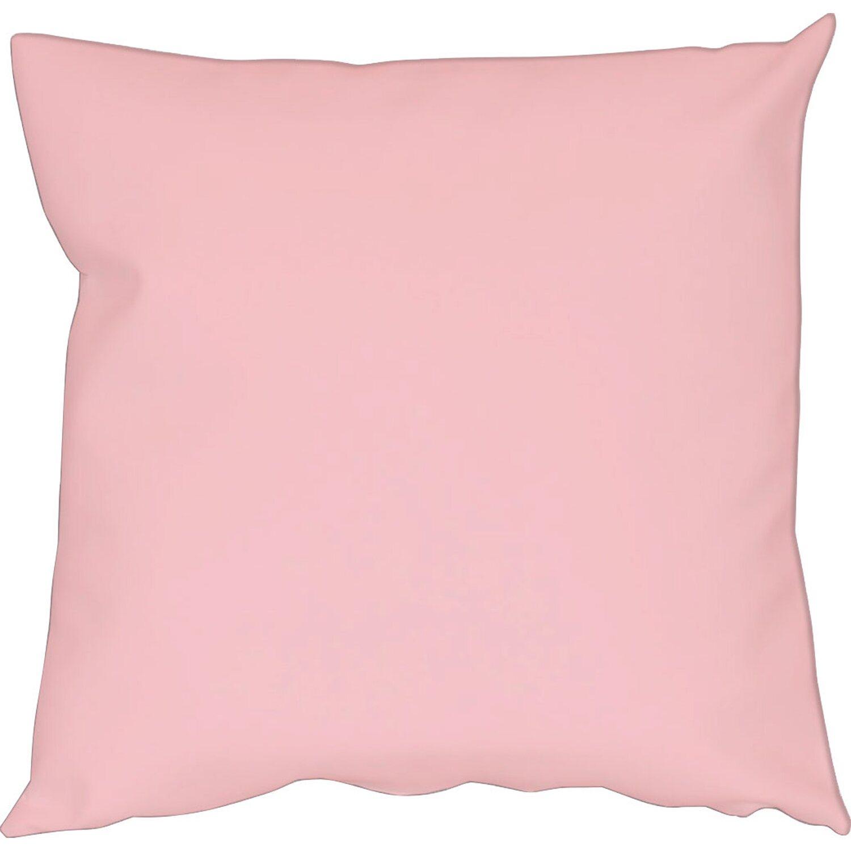 Cuscini Rosa.Fodera Cuscino Cotone Panama Rosa Chiaro 42 Cm X 42 Cm Obi