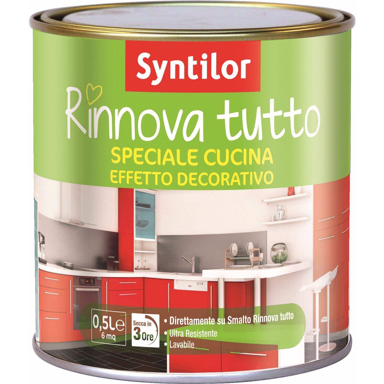 Finitura per cucina effetto decorativo incolore opaco 500 ml ...