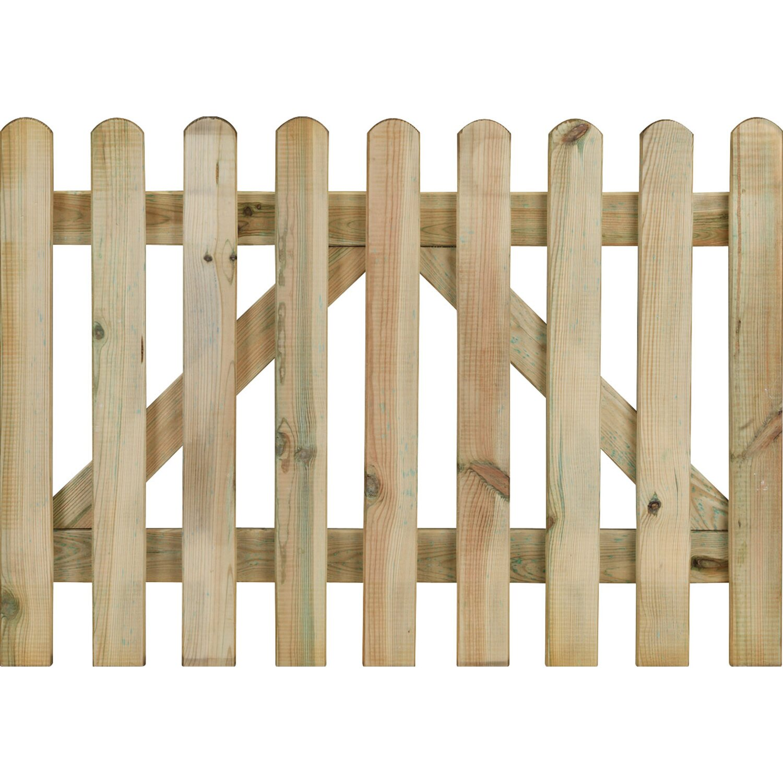 Cancello diritto 70 cm x 100 cm acquista da obi for Recinzioni in legno obi