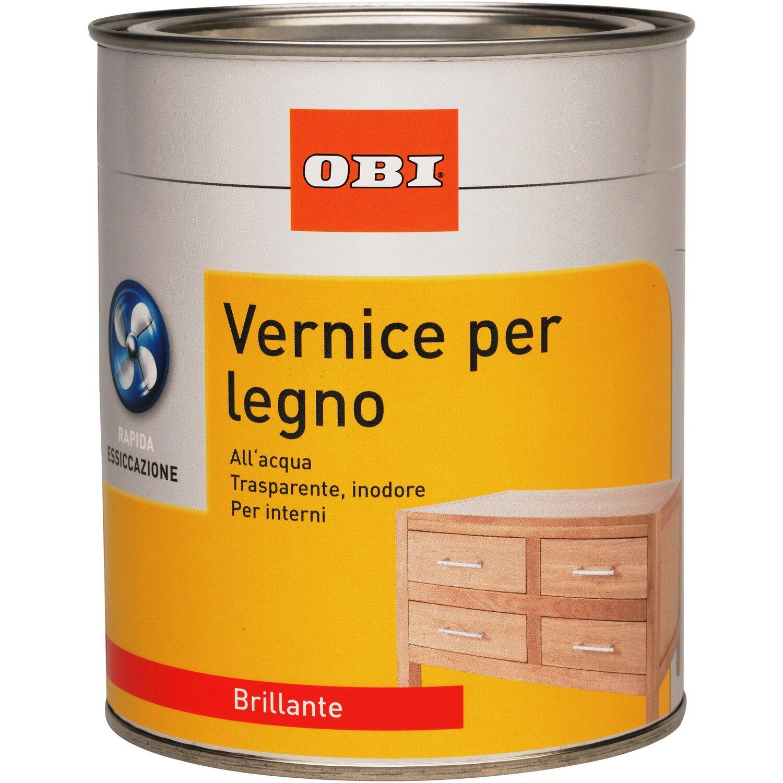 Pittura Bianca Per Interni Obi.Obi Vernice Trasparente All Acqua Brillante 750 L Acquista Da Obi