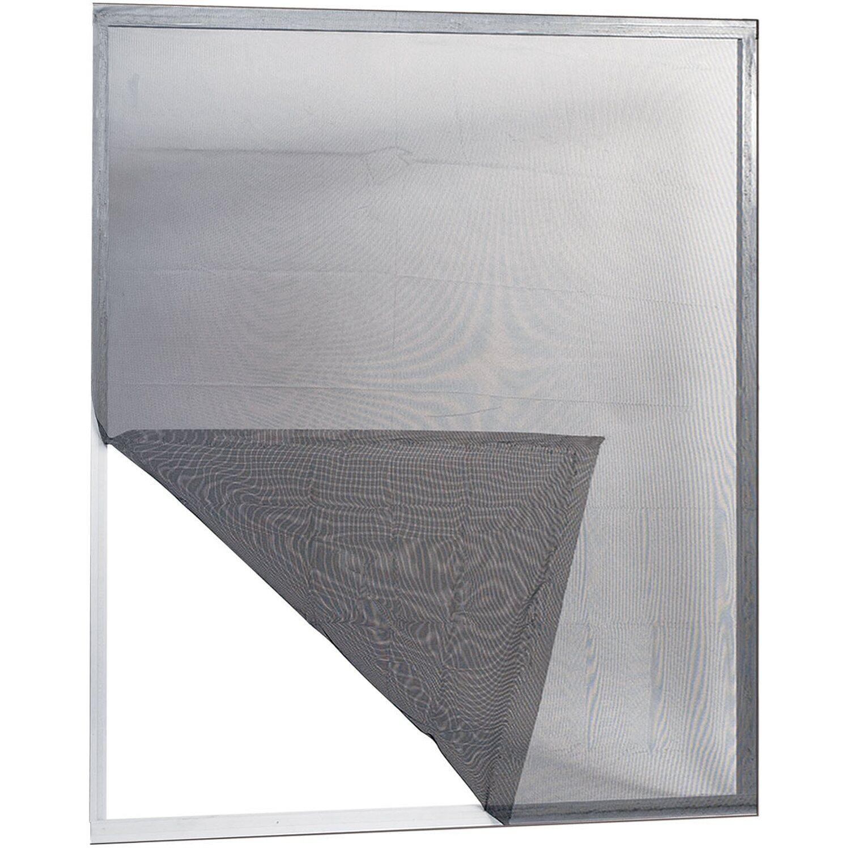 Irs zanzariera adesiva ecco 150 cm x 180 cm nera acquista for Ikea zanzariere per finestre