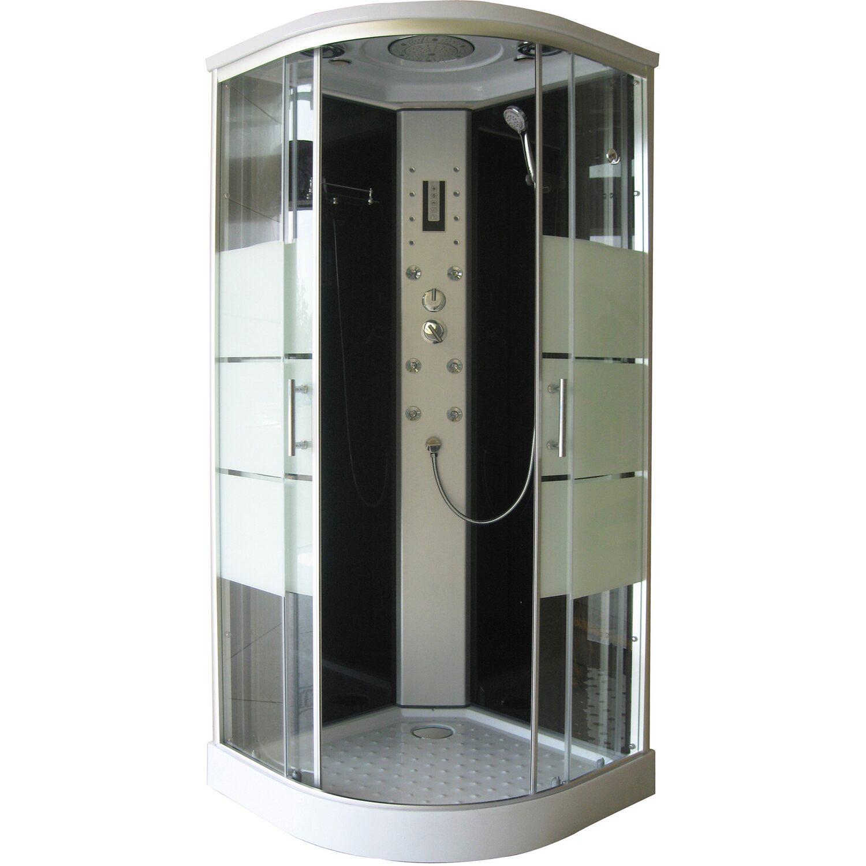 cabina idromassaggio semicircolare idro acquista da obi - Cabina Armadio Fai Da Te Obi