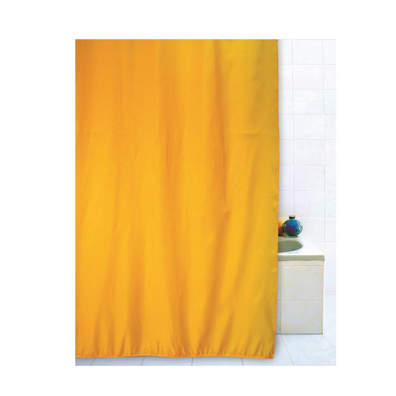 Tenda doccia in tessuto giallo 180 cm x 200 cm acquista da obi - Tende per doccia in tessuto ...