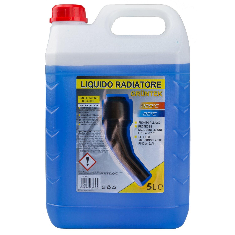 Liquido radiatore gruntek 22 c con tappo versatore 5 l for Obi stufe a combustibile liquido