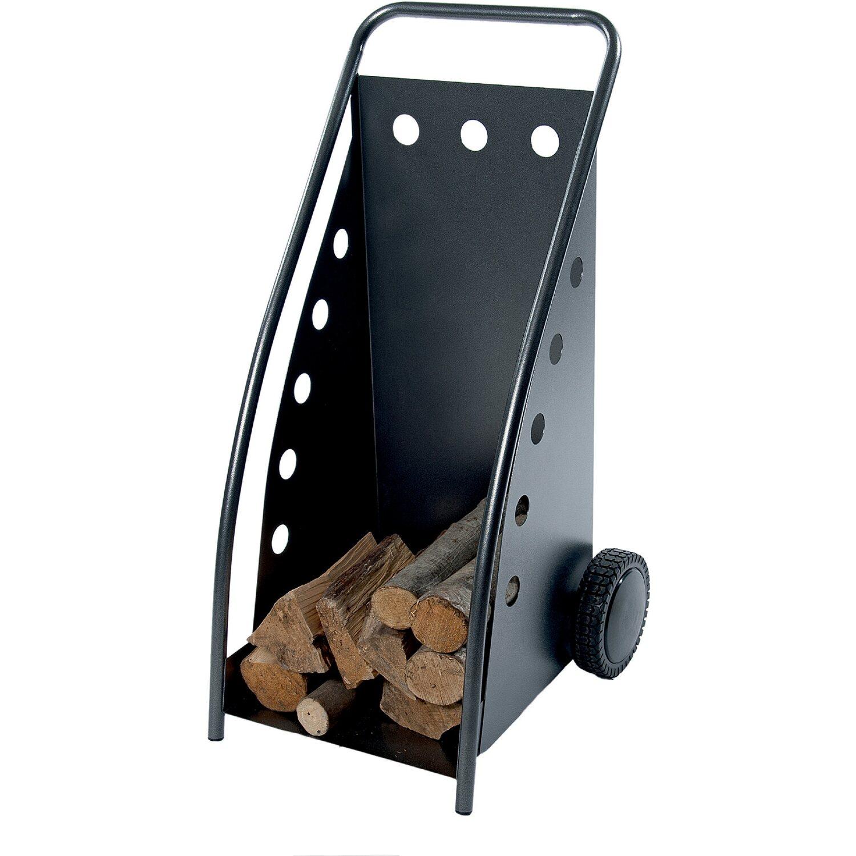 Carrello porta legna per camino acquista da obi for Porta pellet da interno
