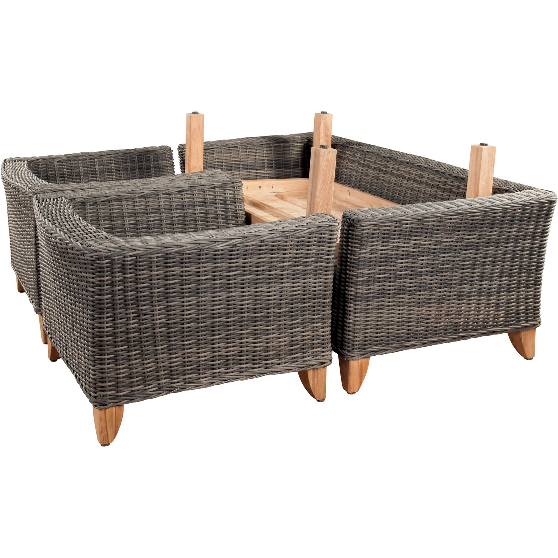 Obi set di mobili da giardino arlington 4 pz acquista da obi for Set mobili da giardino offerte