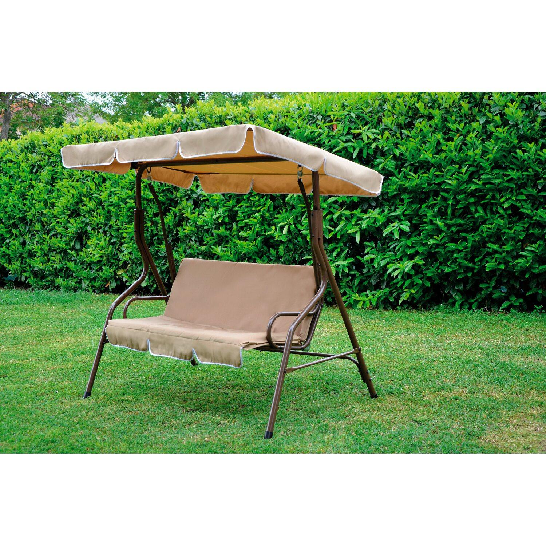 Dondolo Da Giardino Obi.Dondolo Sorrento 170 Cm X 115 Cm X 152 Cm Marrone Acquista