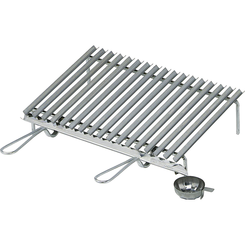 Graticola in acciaio inox con sistema di recupero grassi - Casa in acciaio prezzo ...