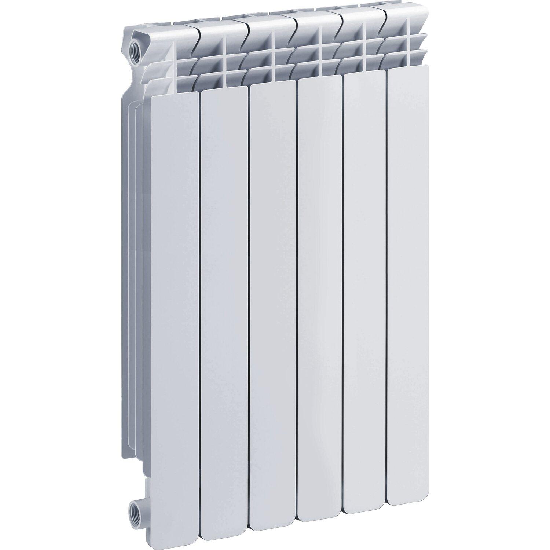 Termoarredo Da Salotto Prezzi radiatore helyos in alluminio interasse 80 cm 6 elementi bianco
