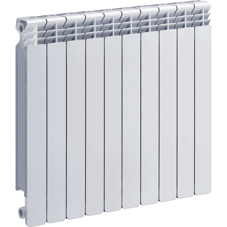 Radiatore helyos in alluminio interasse 60 cm 10 elementi for Radiatori da arredo prezzi