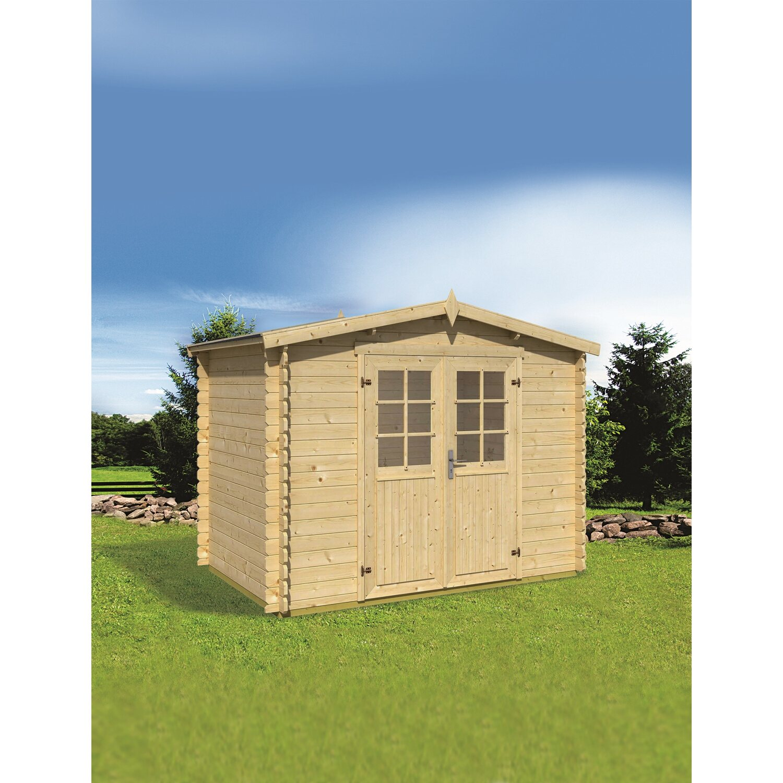 Casetta blockhouse in legno napoli acquista da obi for Casette in legno obi