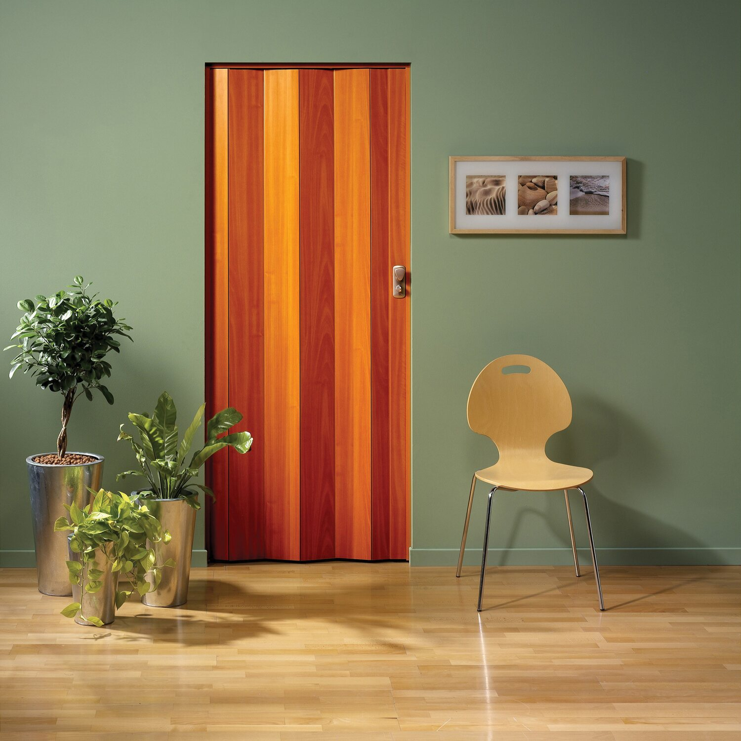 Spacy porta a soffietto ciliegio acquista da obi for Finestre pvc obi