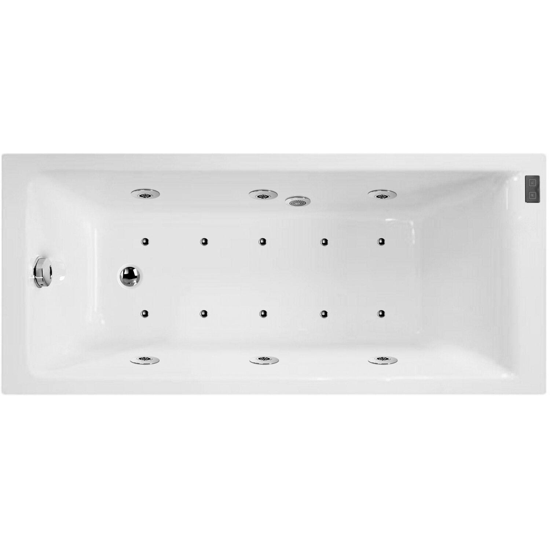 Vasche Idromassaggio Misure E Prezzi vasca bali con sistema idromassaggio ds confort 170 x 70 cm