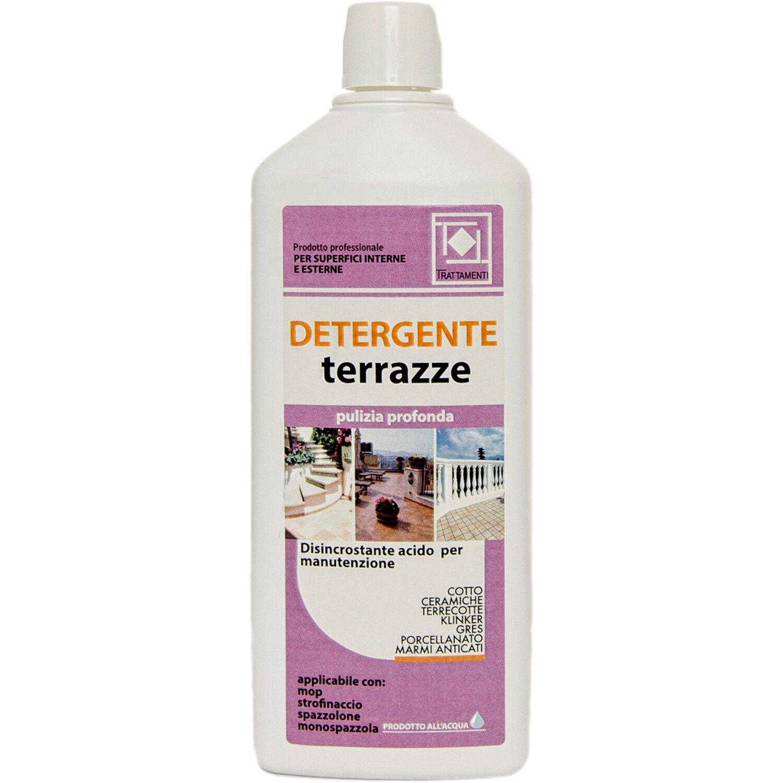 Detergente Per Cotto Esterno detergente acido per terrazze faber
