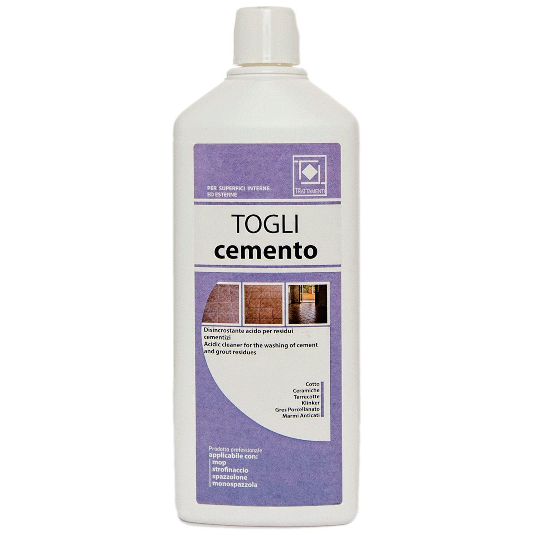 Prodotti Per Pulire Cotto Esterno togli cemento disincrostante faber