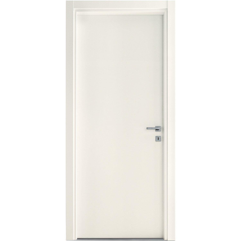 Porta a battente reversibile Badia bianca 210 cm x 80 cm acquista da OBI