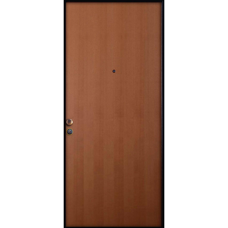 Porta blindata moma 90 cm x 210 cm apertura destra - Maniglia porta ingresso ...