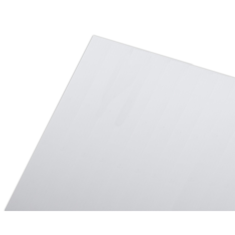 Lastra bilaminata alveopan bianco 1000 mm x 1000 mm for Lastre bituminose obi