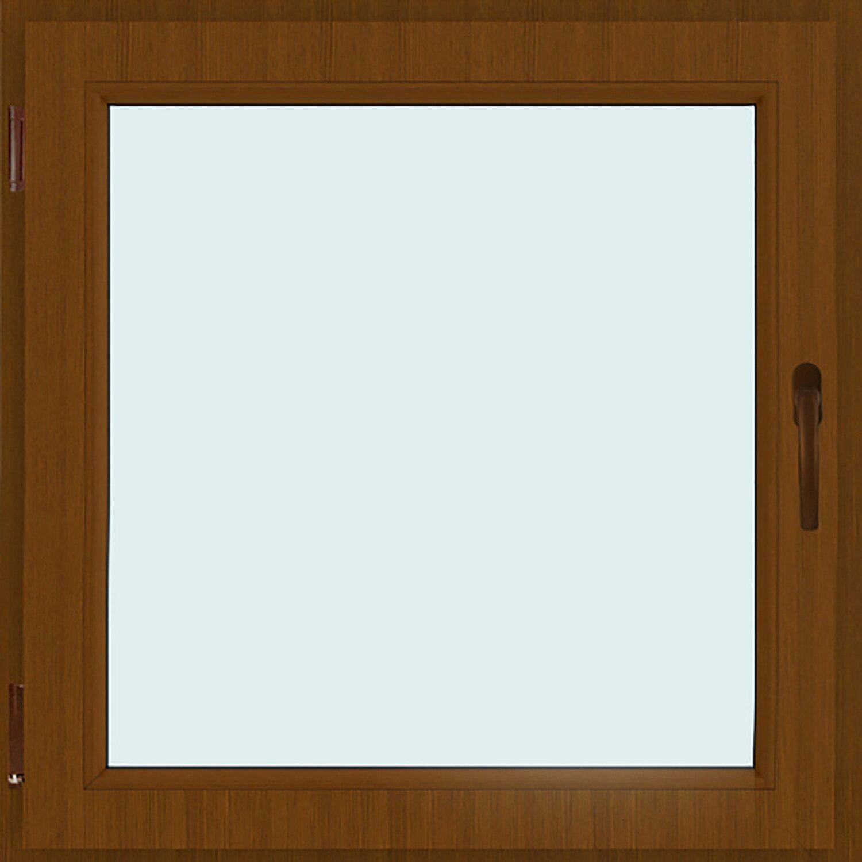 Finestra 1 anta 45 cm x 45 cm sinistra noce acquista da obi - Finestra tra i denti ...